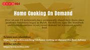 Home Cooking On Demand: This Food Delivery Company Just Raised $8.8 Mi